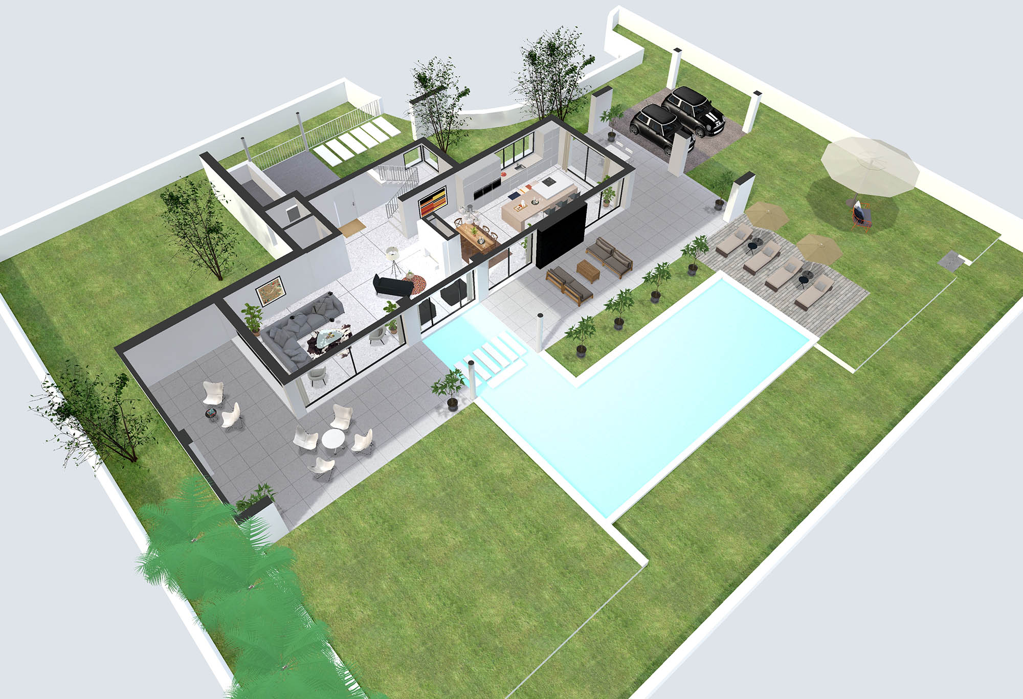 Photoplan360 3d architectural visualisations property for Plan 360