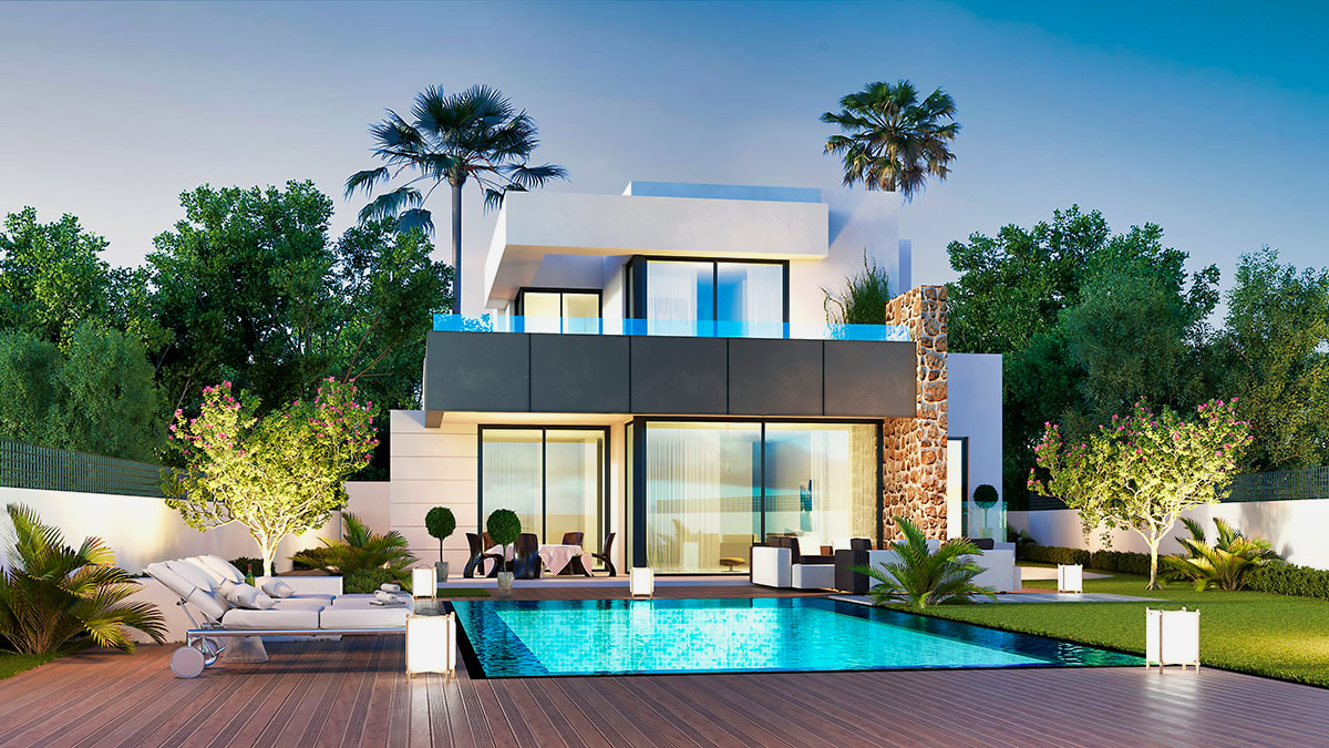 House With Pool CGIs